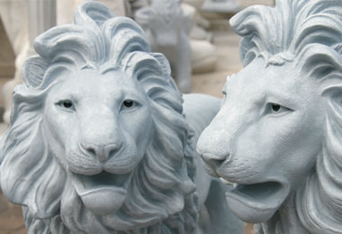 Garden Decoration - Lions